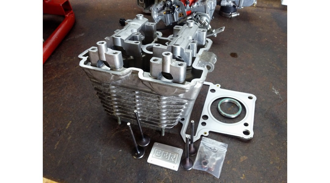 FXR150 HEAD with Valves